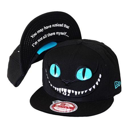 Boné New Era Snapback Cheshire Cat Alice in Wonderland
