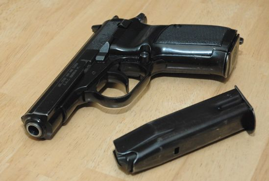 CZ has stopped importing the CZ83, but there's still plenty o' CZ82's to be had: 9X18 9Mm, Makarov 9X18, Cz Pistols, Gift Ideas, Gun Sites, 3Rd Law, Cz82 S, 9Mm Makarov, Russian Guns