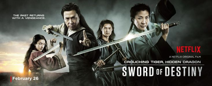 Return to the main poster page for Crouching Tiger, Hidden Dragon: Sword of Destiny