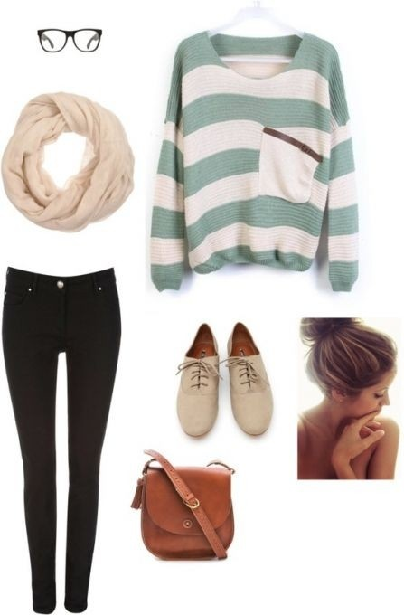 so cute...without the glasses - Click image to find more Women's Fashion Pinterest pins