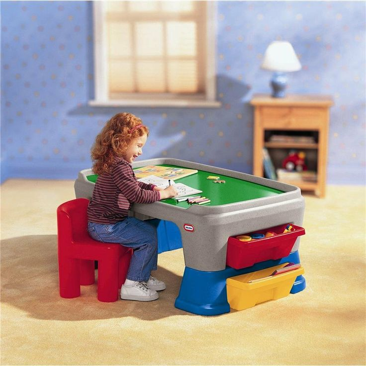 17 Best Images About Toddler Art Desk With Storage On