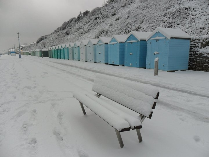 snow in Bournemouth