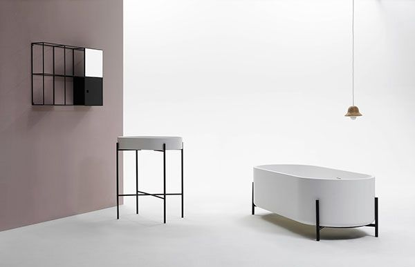 I adore this collection by norm architects.  Minimalistic // Sink // Basin // Tub // Bathroom //