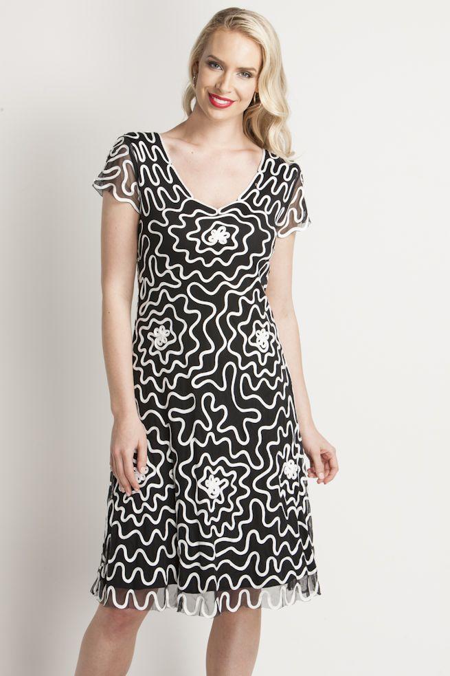 Tapework Cornellie Dress