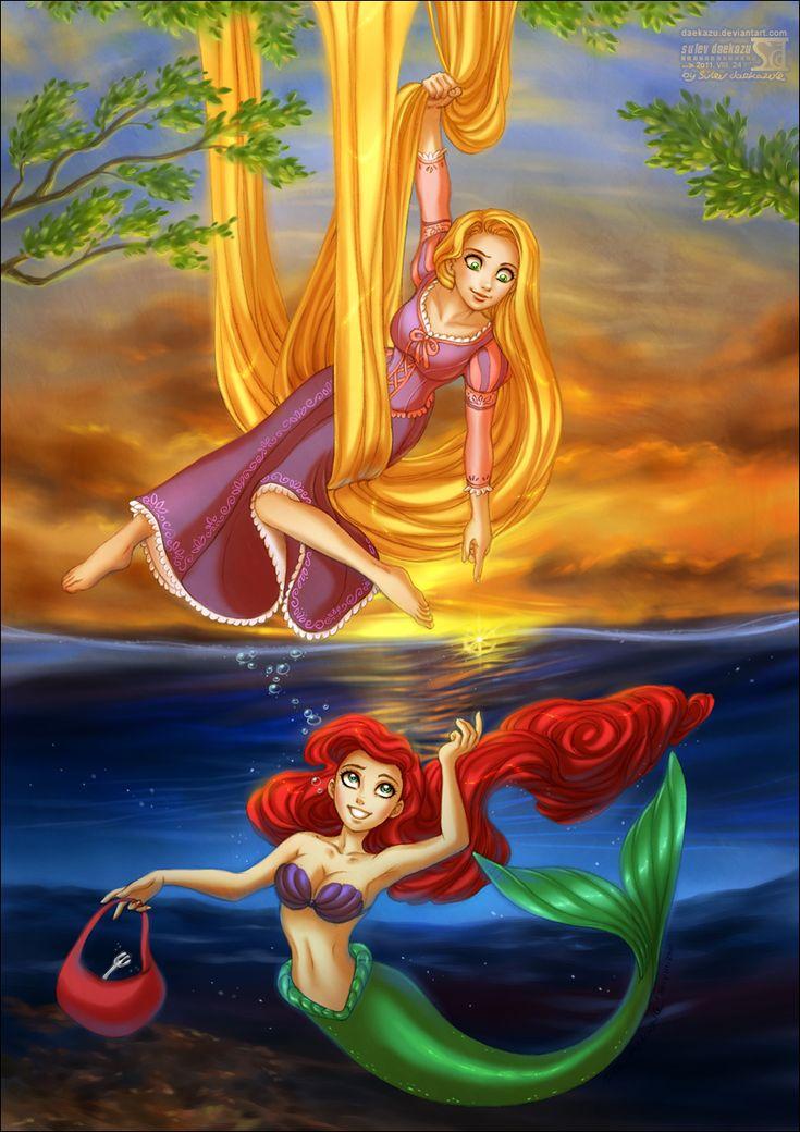 http://daekazu.deviantart.com/art/Rapunzel-Ariel-254836681?q=gallery%3Adaekazu%2F8467982&qo=14