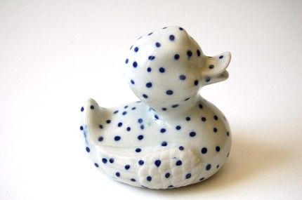 Ceramic Rubber Ducky By Futility Ltd Home Goods For A