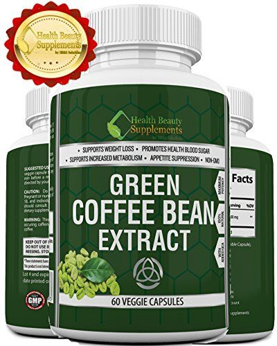 ★ EXTREME GREEN COFFEE BEAN EXTRACT WITH GCA ★ 1600mg Dai...