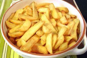 Frites croustillantes Weight watchers , une recette de frites légères, facile et simple à préparer pour accompagner vos plat .