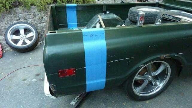Cut down long bed Automotive 68 GMC Pinterest