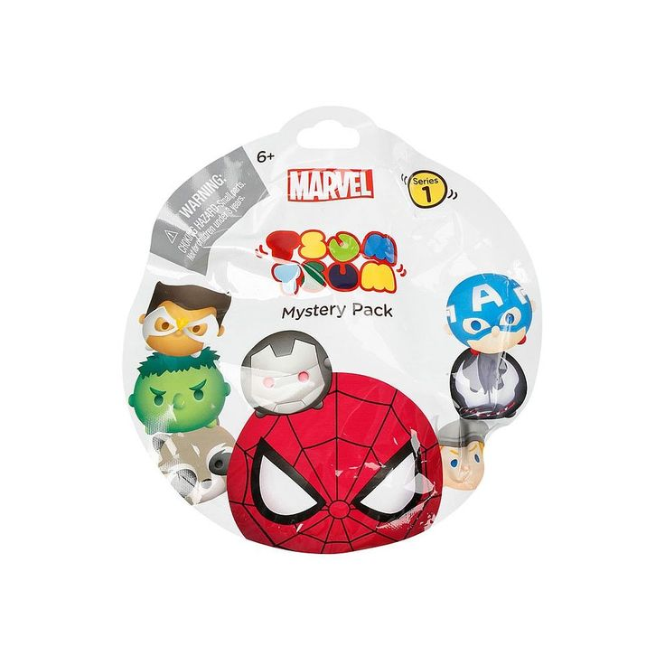 Collect, stack and display your favorite Marvel Tsum Tsum characters! You may even find a limited edition figure hidden in your pack! There are 16 different sets to collect. Contains random medium sized collectable Tsum Tsum