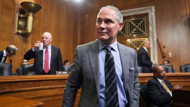 Scott Pruitt, who ostensibly runs the Environmental Protection Agency when he's not taking first-class plane trips or speculating that climate change might actually be good, has once again taken to using the Bible to justify parts of his agenda.