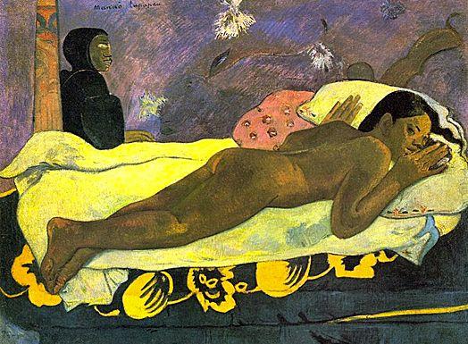 Manao Tupapau (L'esprit des morts veille), 1892, Paul Gauguin