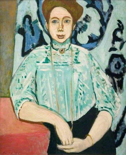 Portrait of Greta Moll by Henri Matisse The National Gallery, London
