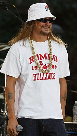 "Kid Rock, singer-songwriter, was born Robert James Ritchie on Jan. 17, 1971 in Romeo, MI. He began his career as a rapper and hip hop artist, later moving into rock and country. He signed a recording contract with Atlantic Records in 1998. His first commercial success was the 1998 album ""Devil Without a Cause."" His collaboration with Sheryl Crow on the song ""Picture"" was his first country hit and biggest pop hit in the U.S. to date. He is a five time Grammy Award nominee."