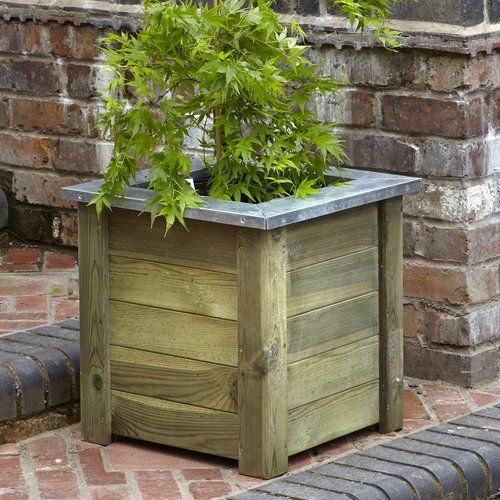 Freeport Park Karah Wooden Planter Box Planter Boxes Wooden Planter Boxes Wooden Planters