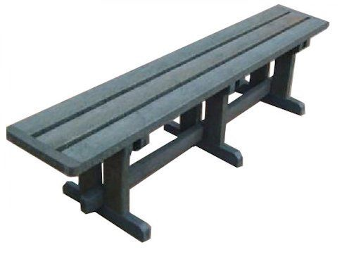 Recycled Plastic 4 Seater School benches
