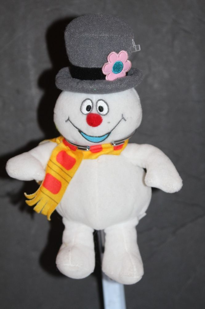 a1f2e4d5e FROSTY THE SNOWMAN Soft Beanie Stuffed Christmas Plush Doll Toy 9 ...