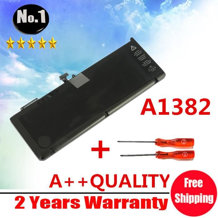 """[Visit to Buy] wholesale New Laptop Battery For Apple MacBook Pro 15"""" A1286 2011 version  replace A1382  #Advertisement"""