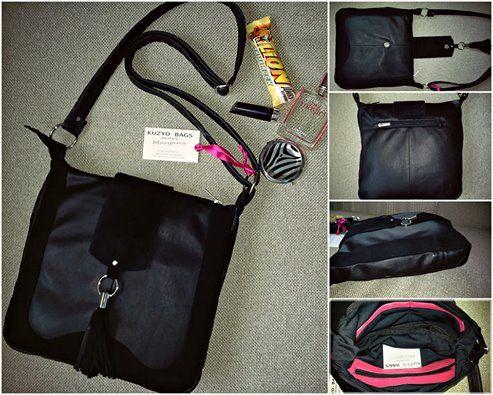 #black #kuzyo #bag #handbag #classic #leather #design #fashion