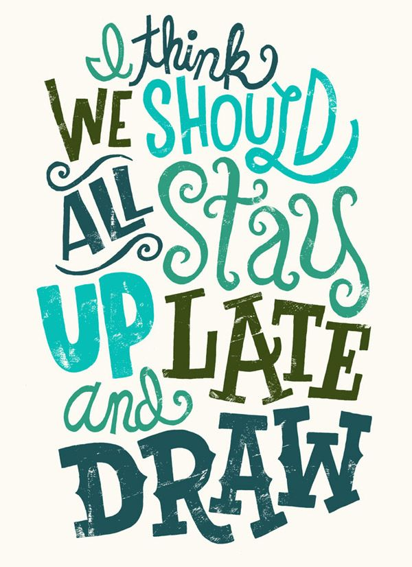 Stay Up Late by Jay Roeder. Good call... let's do that!