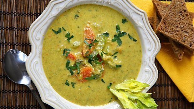 Polévka z řapíkatého celeru Foto: