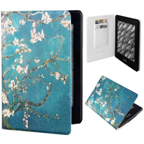 New-Colorful-PU-Leather-Slim-Flip-Case-Cover-For-Amazon-Kindle-Paperwhite-1-2-3G