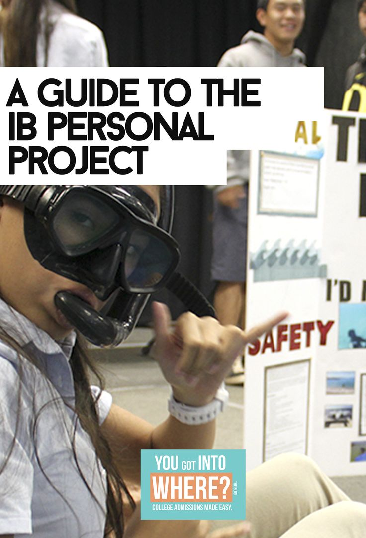 The I.B MYP personal project is a seemingly complicated project that is due at the end of your sophomore year in high school. This is completed as a part of the International Baccalaureate Middle S…