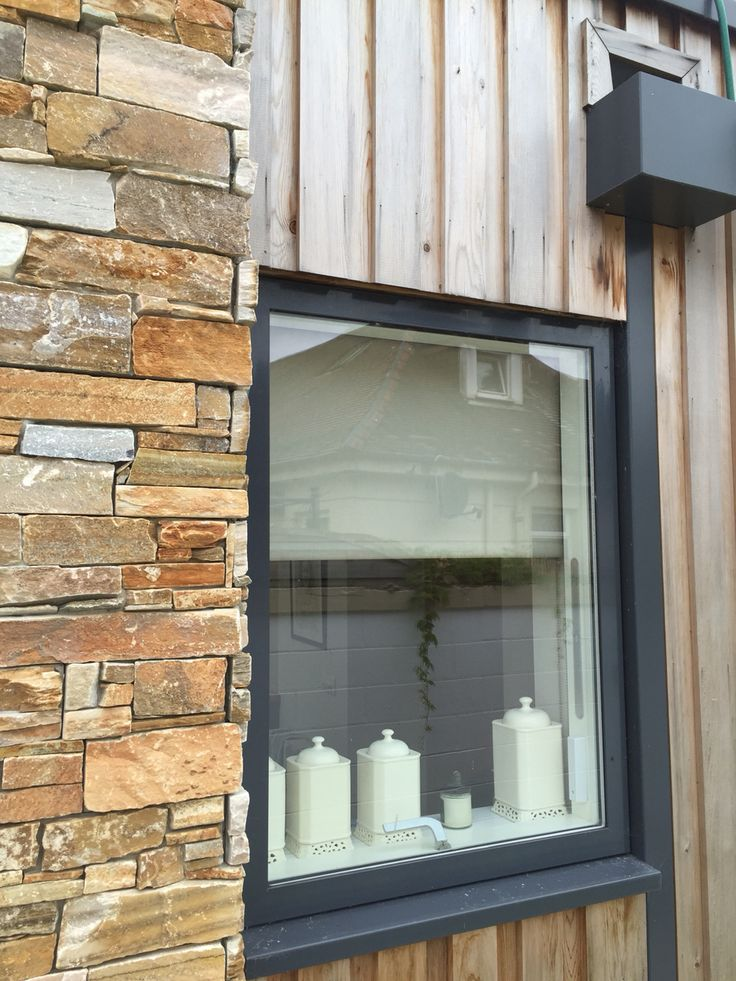 Western Red cedar timber cladding on our house extension project in North Lanarkshire