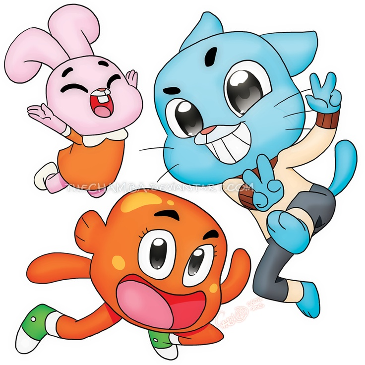 Amazing Cartoon: 56 Best Images About The Amazing World Of Gumball On Pinterest