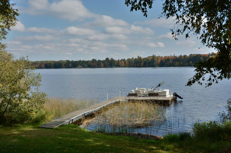 Dock on Upper Clam Lake