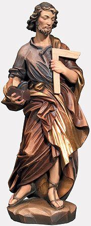 Citta Cattolica: Statue: Santi Maschi in Legno