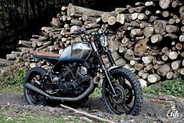Yamaha TR1 // Etik Motorcycles   4h10