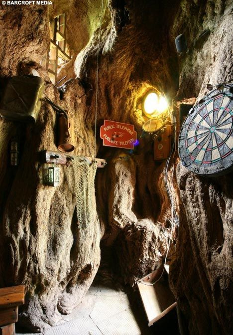 Fancy a pint in the world's only bar that's INSIDE a tree? | Boabab Bar, South Africa #famfinder