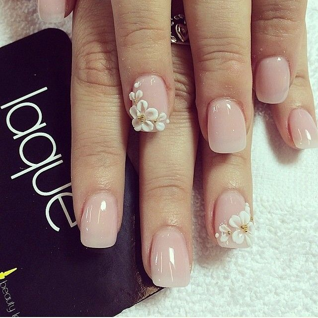 Full set with 3d $40 #laquenailbar - 92 Best 3D Nail Art Ideas Images On Pinterest 3d Nails Art, 3d