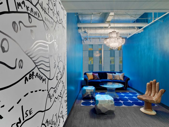 Office Tour Viacom New York City Wellness Center