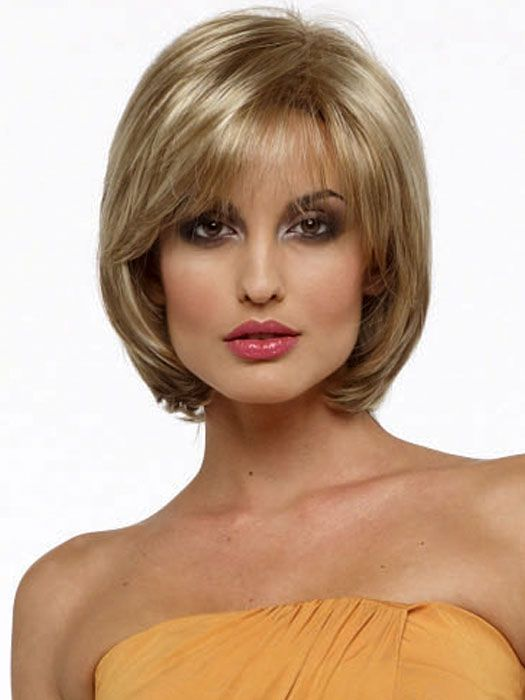 chic medium hair styles for square  faces