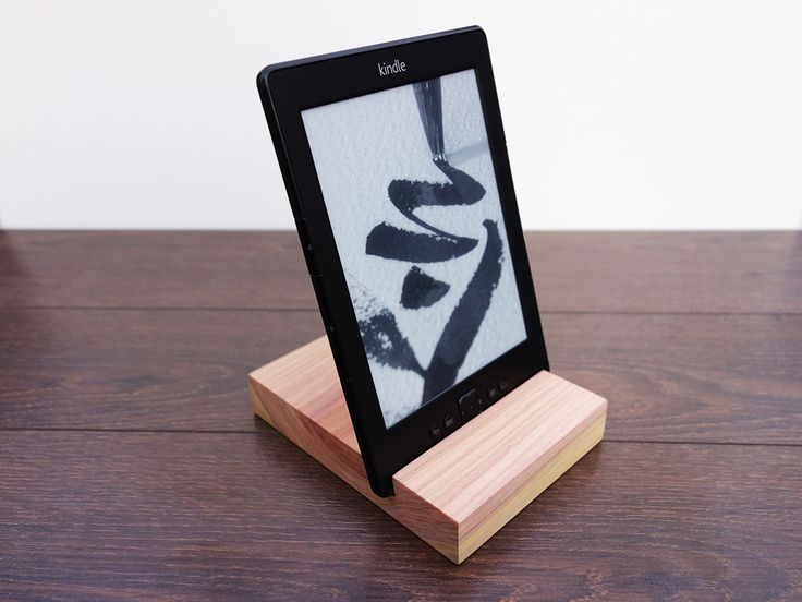 iPad stand. Wood iPad stand. Wooden iPad Stand. Plum iPad stand by MagoWood