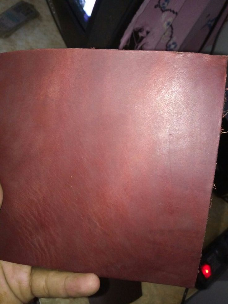 Cow  finished leather  in cherry color ...used in equestrain products like english saddle( jumping saddle, close contact saddle).