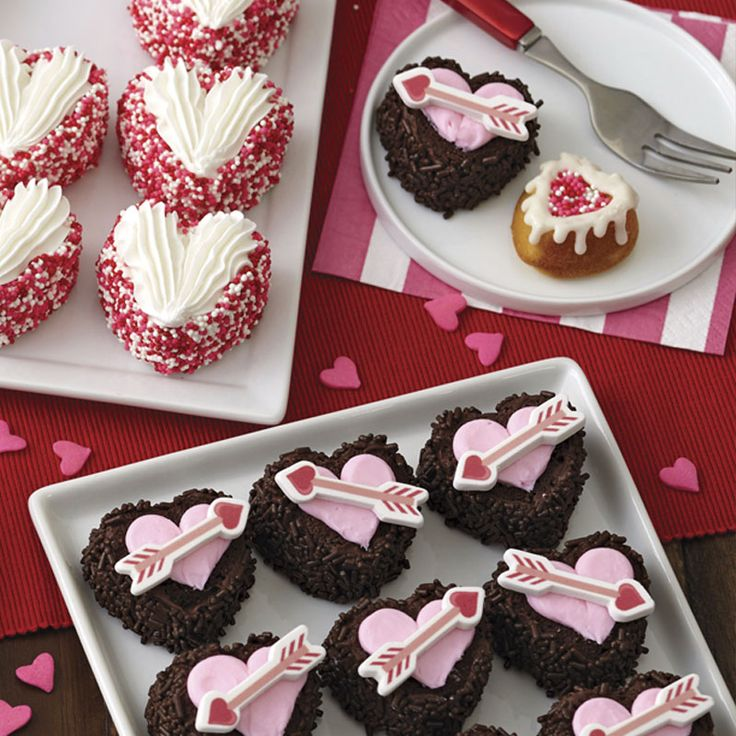 Mini Cakes For Valentine S Day Creative Cake Recipes