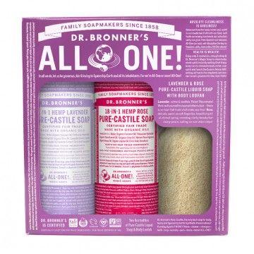 Lavender  Rose Pure Castile Soap Gift Set