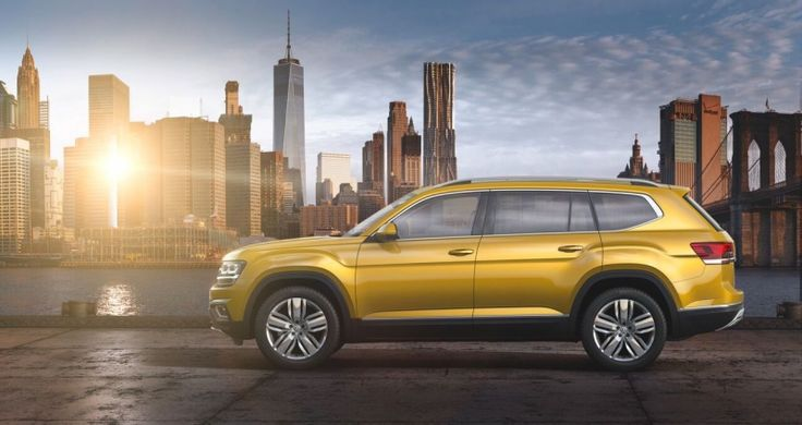 he 2018 #Volkswagen_Atlas SUV price gets announced ahead of May's debut
