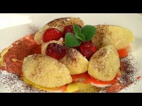 Krupicové halušky - recept na krupicové knedlíčky s jahodami - VIDEO Ako sa to robí.sk
