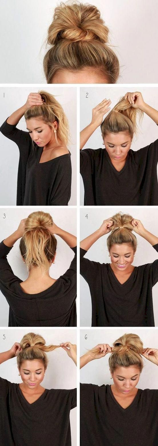 14 Hairstyles That'll Take You From Drab To Fab In Less Than 10 Minutes #hairupdos