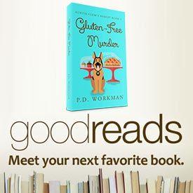 Goodreads Giveaway for Gluten-Free Murder #cozymystery #giveaway #goodreads #gluten-free https://pdworkman.com/goodreads-giveaway-for-gluten-free-murder/