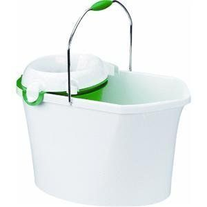 The Libman Company 252 Libman 3-in-1 Utility Bucket by The Libman Company. Save 64 Off!. $20.11. Buckets. Libman. 252. 3.5 gallon/13.25 liter bucket is 16'' L. and 10'' W. Ergonomic polymer molded handle. Constructed of durable polymer with pouring spouts on both ends. Inner bucket and wringer snapped in to collect dirty water or transport sponges, chemicals, and other cleaning accessories.