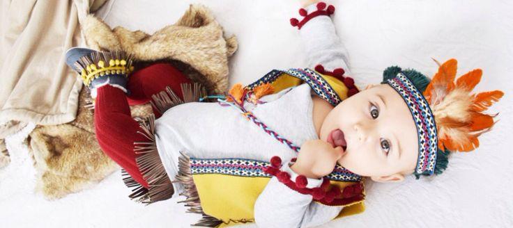 Disfraz de indio hecho a mano  http://www.frutosamore.com/disfraz-de-indio/