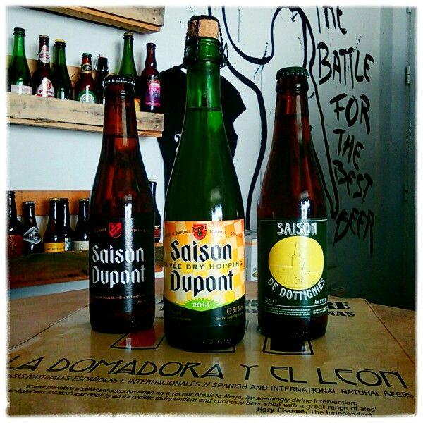 NEWS1: El #verano llegó, qué novedades belgas quieres: SAISON DUPONT (6'5,°), SAISON DUPONT CUVÉE DRY HOPPING 2014 (6'5°) ó SAISON DE DOTTIGNIES (5'5°) ?? #cerveza #bier #bière #beer #Belgique