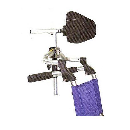 Accesorios para sillas de ruedas: cabecero. Cabecero adaptable en segundos a cualquier silla de ruedas plegable. Anatómico y muy funcional. Mas información en: http://www.sci-geriatria.com/catalogo/sillas-ruedas/accesorios-sillas-de-ruedas/accesorios-sillas-ruedas-cabecero/