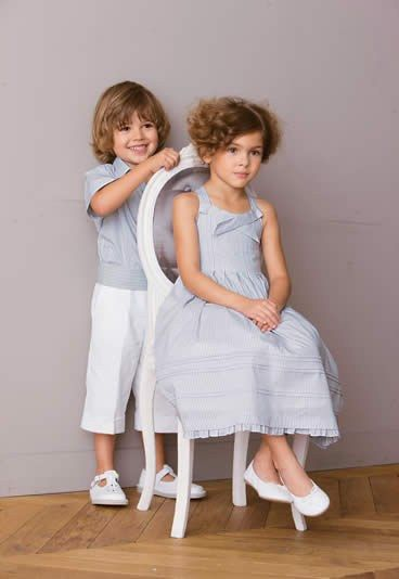 One of my favourite French children's clothing designers...Cyrillus. You can now get their clothing in North America...I think their things are even more beautiful than better-known Jacadi.