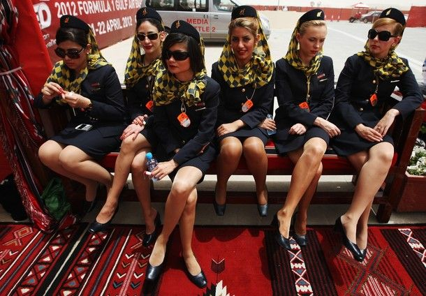 2012 Bahrain GP Grid Girls in Photos | 2013 F1 | Formula 1 - Latest F1 News, Live Updates, Results, Standings, Interviews